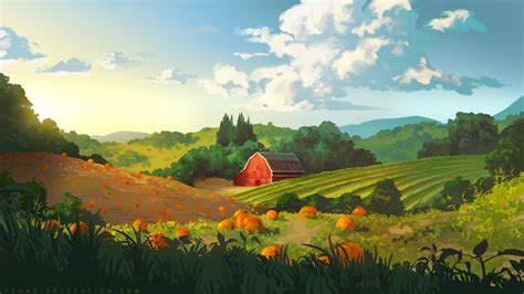 Countryside by Tohad on DeviantArt