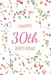 Online 50th Birthday Invitations 30th Birthday Confetti Free Birthday Card Greetings Island