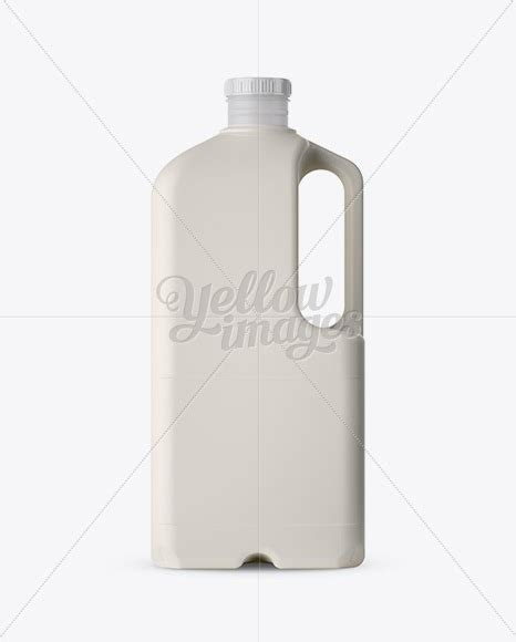 Offer many aftertreatment such as frosted , sandblast , spray ,decal,logo printing. Download 2L Frosted Plastic Milk Jug Mockup - Side View PSD