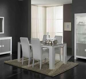 tables et chaises de salle a manger but With meuble salle À manger avec chaise salle a manger grise et blanc