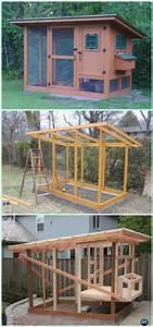 Diy Wichita Cabin Coop Free Plan  U0026 Instructions
