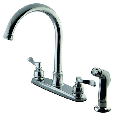 standard kitchen faucets kingston brass designer 2 handle standard kitchen faucet