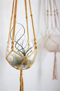 Suspension Macramé Ikea : r aliser un vase suspendu en macram soi m me ~ Zukunftsfamilie.com Idées de Décoration