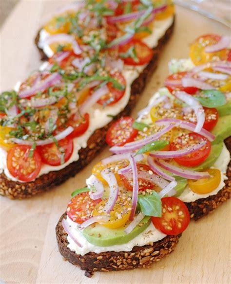vegetarian sandwich recipe  avocados ricotta