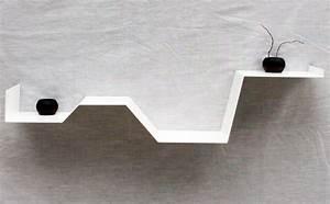 étagère Originale Murale : etagere murale originale et design d coration int rieure pinterest tag re originale ~ Teatrodelosmanantiales.com Idées de Décoration