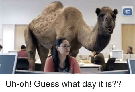 25+ Best Memes About Uh Oh Guess What Day It Is
