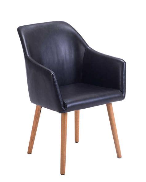chaises scandinave chaise de visiteur avec accoudoirs style scandinave dot