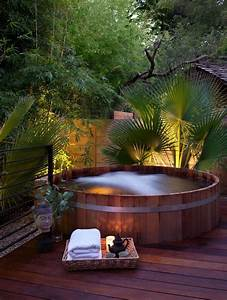 30 Outdoor Spas And Hot Tubs You Deserve