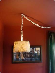 Turn On The Bright Lights Cover Diy Drum Shade Chandelier From Thrifty Decor Chick