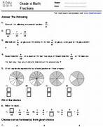 Equivalent Fractions Worksheet Grade 4 Grade 4 Fractions Worksheets In Addition In Addition Grade 4 Fraction