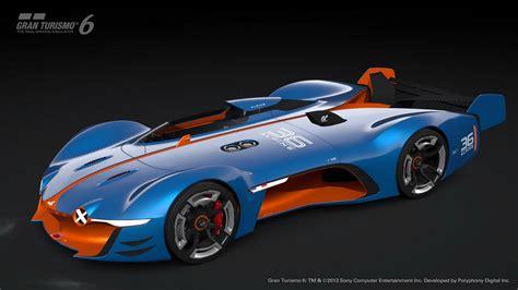alpine gt vision gt sports car top speed
