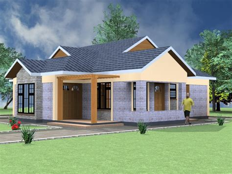 bedroom bungalow architectural design hpd consult