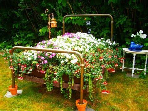 Small Planter Ideas by Unique Planters For Economic Gardening Small Garden Ideas