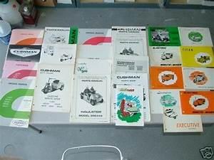 Cushman Haulster  Truckster  Golfster Factory Manuals