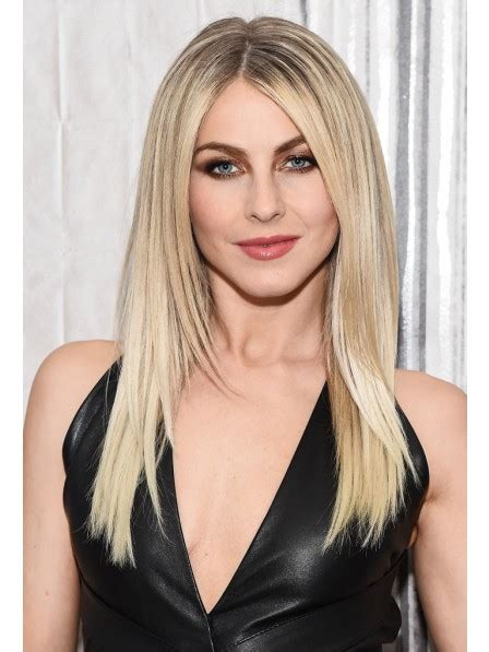 long straight human hair blonde wigs  middle part