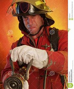 Fighting The Fire. Royalty Free Stock Photography - Image ...