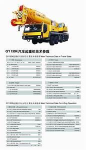 Truck Crane Xcmg Qy50k Truck Crane Load Chart