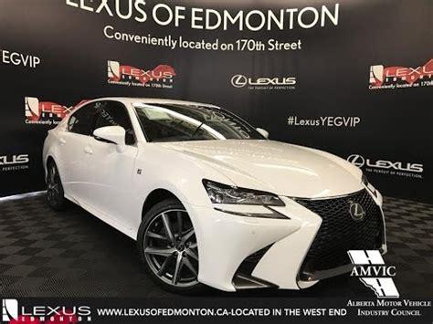 white  lexus gs   sport series   depth review