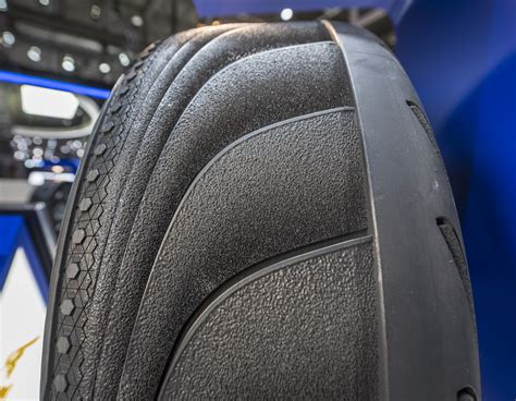 Goodyear Tripletube Concept Tyre At The Geneva Motor Show 2015
