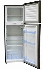 Refrigerator  212l  Direct Cool  Double Door  Dark Silver