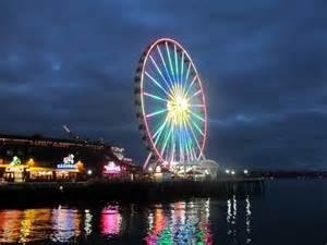 seattle great wheel largest ferris wheel   west coast