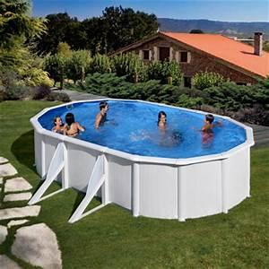 Piscine Ovale Hors Sol : piscines hors sol parois acier ~ Dailycaller-alerts.com Idées de Décoration