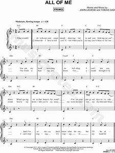 John Legend QuotAll Of Mequot Sheet Music In F Major Download
