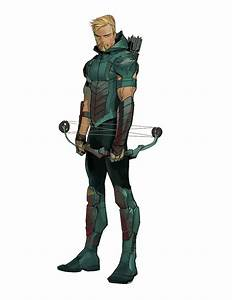 Green Arrow (Rebirth) - Transparent by Asthonx1 on DeviantArt