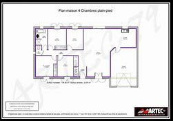 hd wallpapers plan maison 100m2 plain pied 4 chambres - Plan De Maison 100m2 Plein Pied
