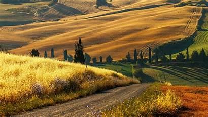 Countryside Tuscany Italian Incredible Desktop Resolutions