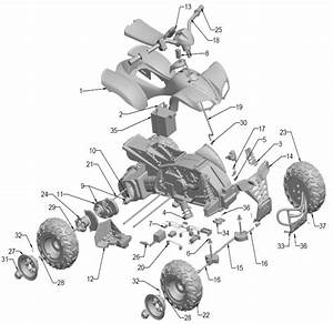 Power Wheels Kawasaki Kfx Ninja Parts