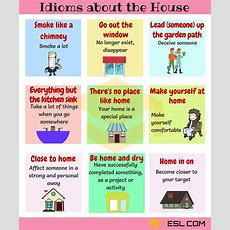 Home Idioms 28 Useful Idioms About The House And Home