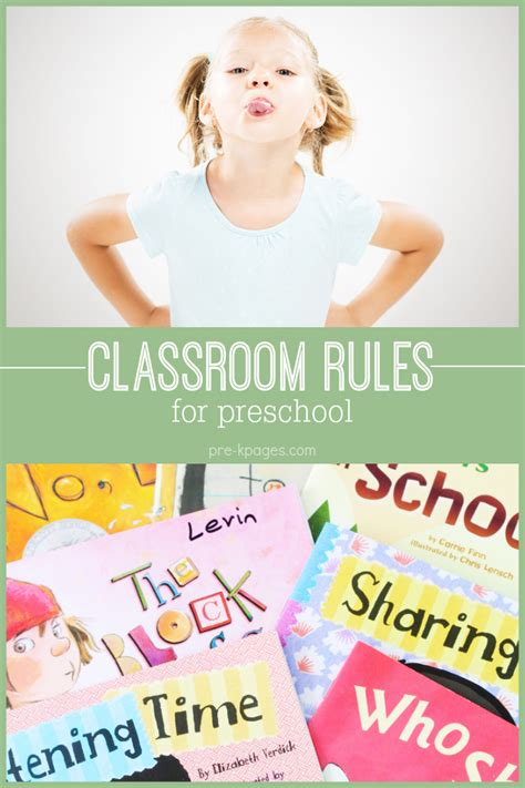 classroom for pre k and kindergarten 676 | classrom rules