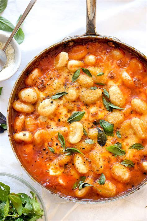 gnocchi sauce recipe gnocchi with pomodoro sauce foodiecrush com