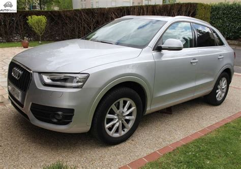 audi q3 ambition luxe achat audi q3 2 0 tdi ambition luxe d occasion pas cher 224 25 600