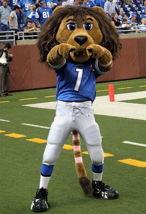resultado de imagen de mascot roary detroit lions