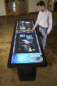 The Pano Touchscreen Desk From Ideum | Futuristic NEWS