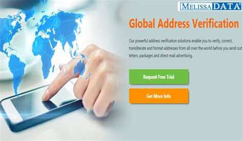international address verification service api melissa