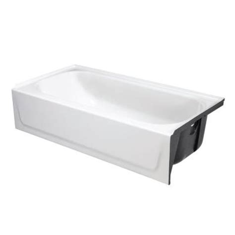 home depot bathtub stopper bootz industries bootzcast 5 ft right drain soaking tub