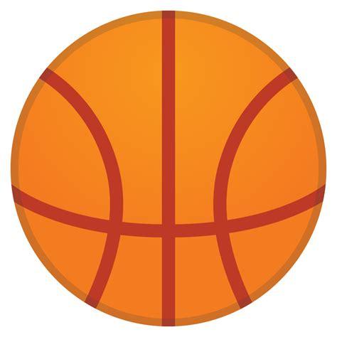 basketball icon noto emoji activities iconset google