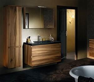 Meuble Salle De Bain Noyer : meuble salle de bain sanijura lignum noyer d co salle de bains ~ Melissatoandfro.com Idées de Décoration