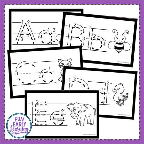 teach letters  writing    alphabet animal