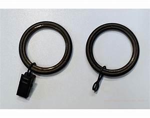 Anneaux Rideaux à Clipser : anneaux houles et accessoires pour tringle rideaux sur ~ Premium-room.com Idées de Décoration