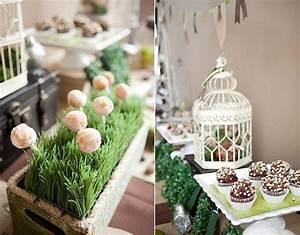 Garden Inspired Dessert Table {Guest Feature