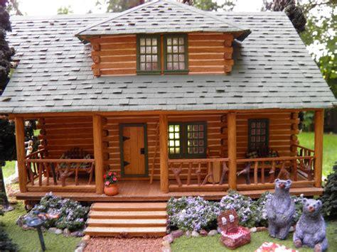 theweetinker log cabin  miniature