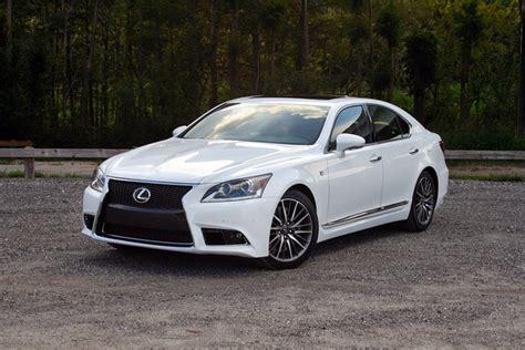 lexus ls  sport driven car review  top speed