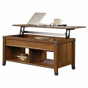 Lift top coffee table in cherry wood finish for Cherry wood lift top coffee table