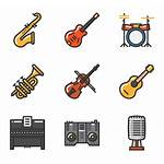 Instrument Musical Icon Icons Packs Instruments Vector