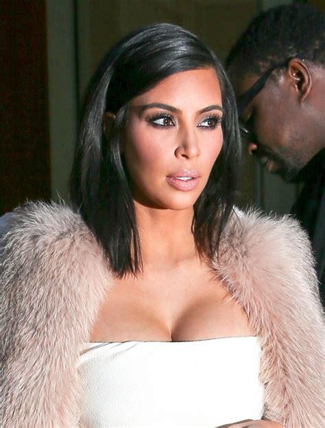 kim kardashian mid length bob kim kardashian looks