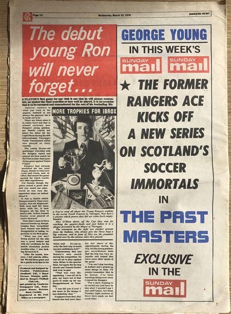 Rangers News 10th March 1976   FollowFollow.com